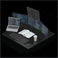 Office Desk Mockup